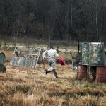 corriendo paintball en asturias