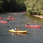descenso del sella en canoa, asturias