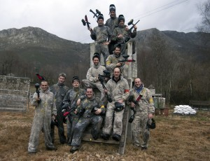 grupo de paintball asturias
