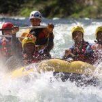 Hacer rafting Sella