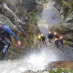 Descenso de cañones en Asturias