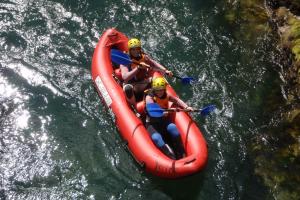 canoa raft