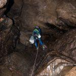 Espeleología Cueva de la Huelga
